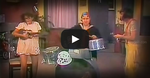 Video episodio: Juegan a la orquesta (1973) - Videoteca Chespirito