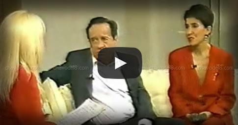 Video: Entrevista de Susana Gimenez a Chespirito y Florinda (Año 1994)