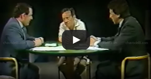 "Video: Entrevista a Chespirito en ""La Noticia Rebelde"" (1987)"